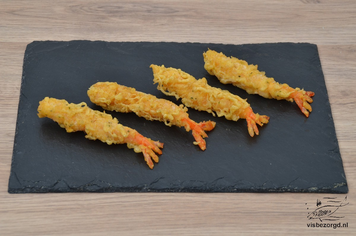Wasabi garnalen