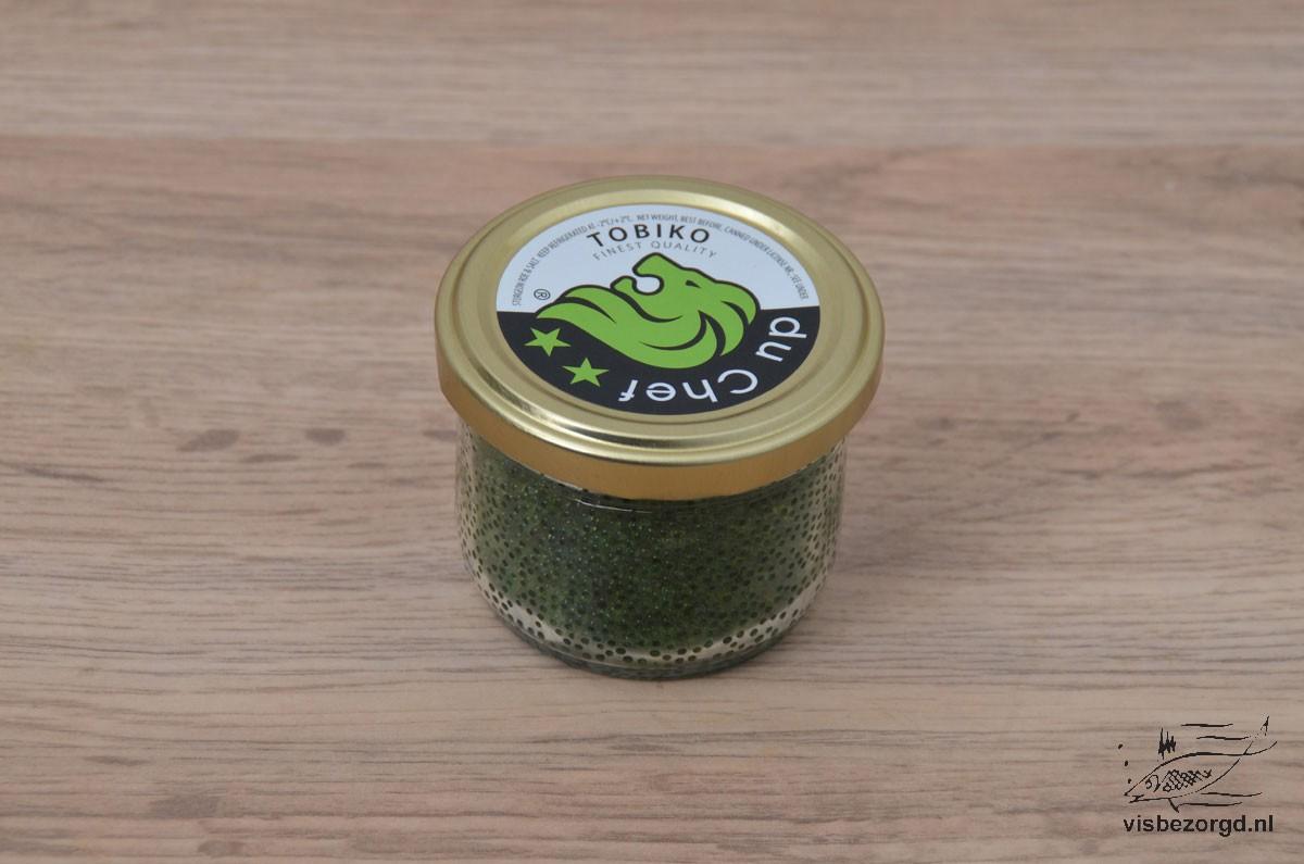 Kaviaar Tobico Groen