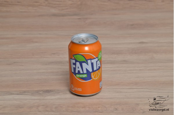 Fanta Orange blikje