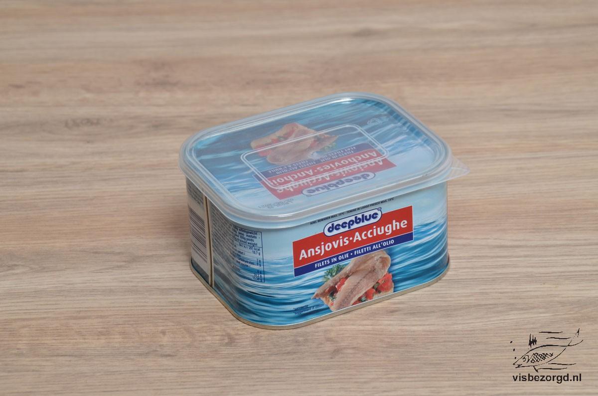 Ansjovisfilet gezouten